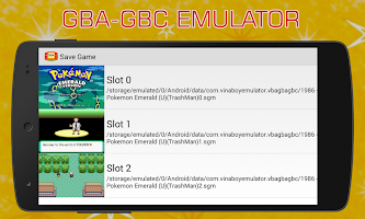 All the apps of the type GBA Emulator (GameBoy Advance)