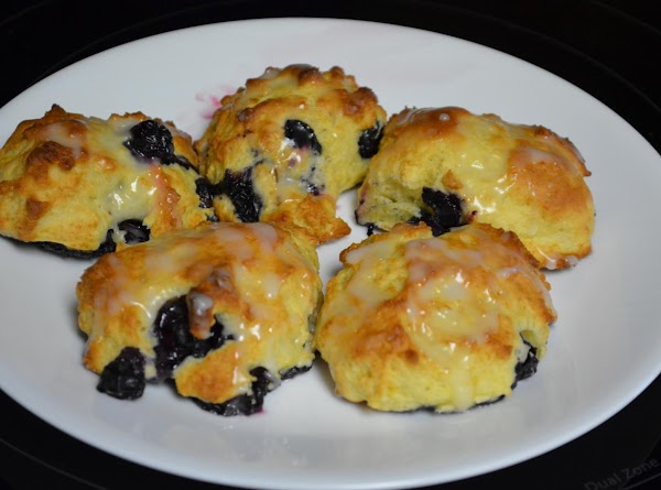 Lemon Blueberry Biscuits Recipe
