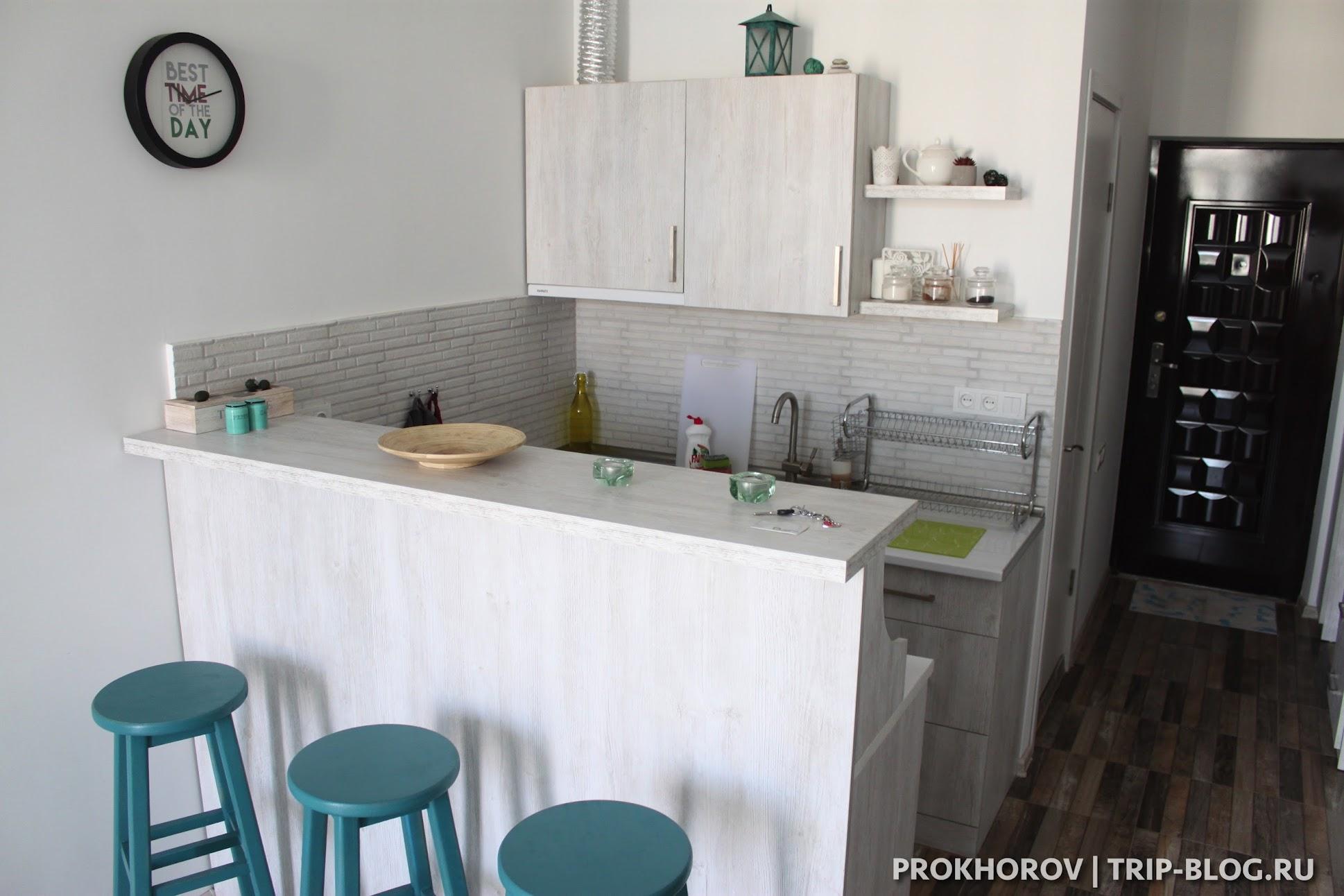 Снять квартиру в Батуми с кухней