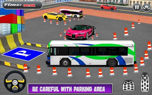 City Coach Bus Simulator Parking Drive 1.0.0 screenshots 9