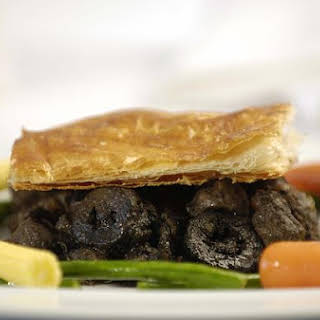 Steak and Kidney Pie With Port and Pickled Walnuts.