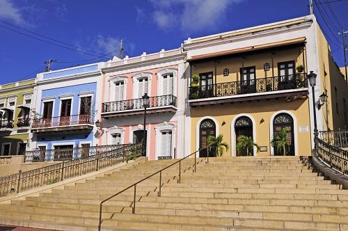 Explore history in Old San Juan.