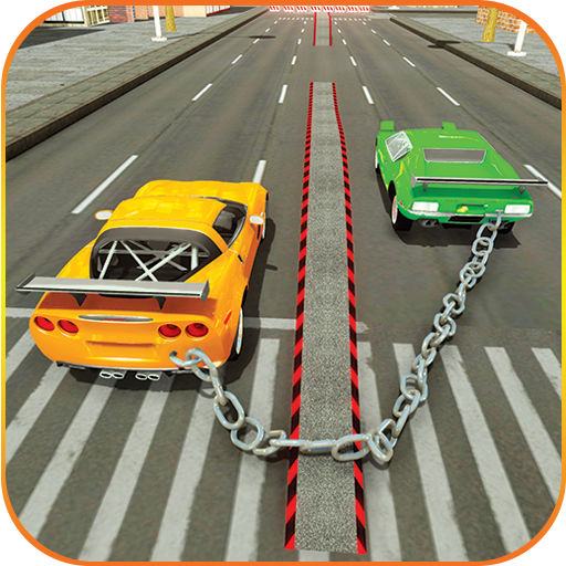 Chained Cars 3d Stunt Car Racing
