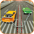 Chained Cars 3d Stunt Car Racing icon