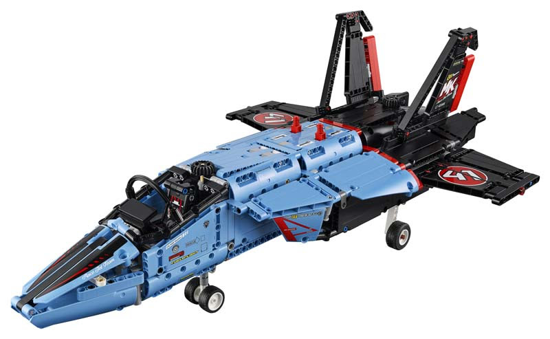 Contenido de Lego® 42066 Jet de Carreras Aéreas