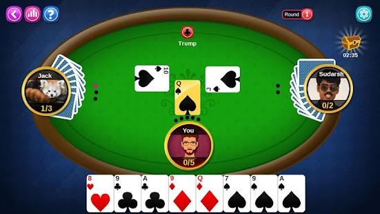 3 2 5 card game offline - náhled