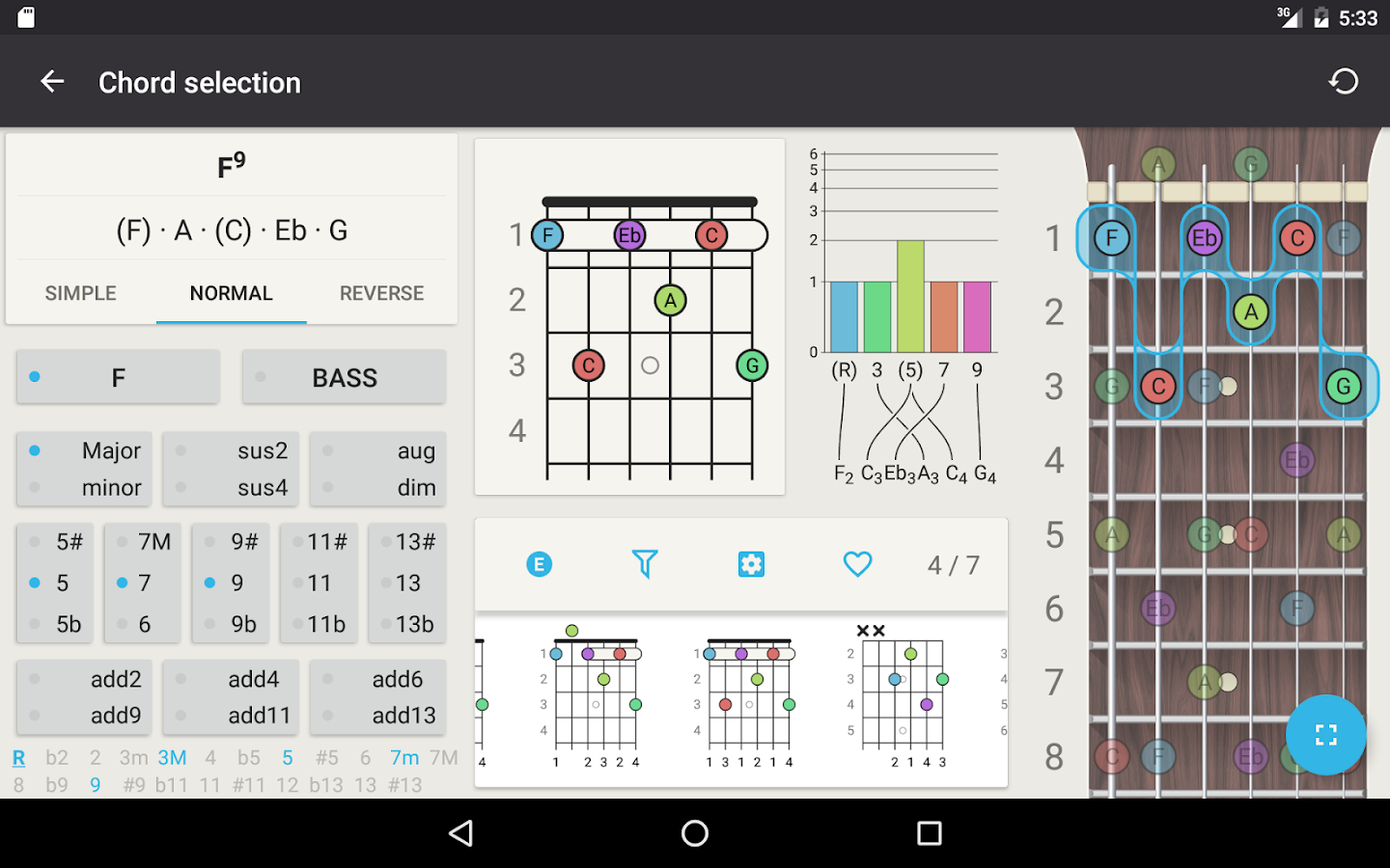 Chord guitar chord finder android apps on google play guitar chord finder screenshot hexwebz Image collections