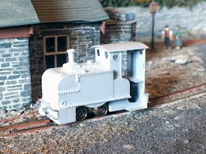 Photo: 008 Rod Allcock has used one of his Ruston LA chassis to provide power for this very early Ruston Proctor locomotive. The body of this model is a 3D print by Tom Bell, who trades as Tebee Models through Shapeways
