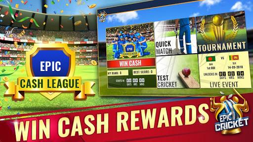 Epic Cricket - Big League Game  captures d'écran 1