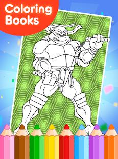 Coloring Book For Ninja Turtle Screenshot Thumbnail