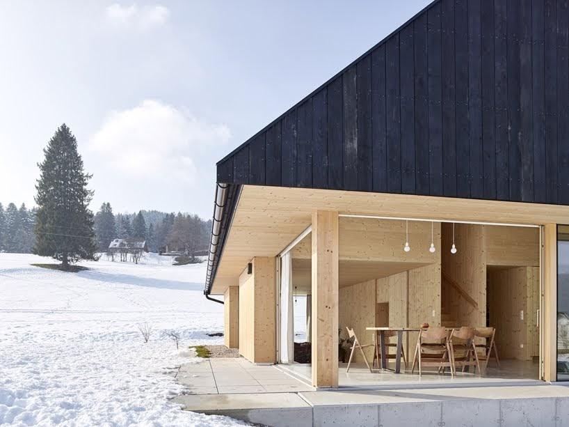 Casa con Aguilón por mia2/Architektur