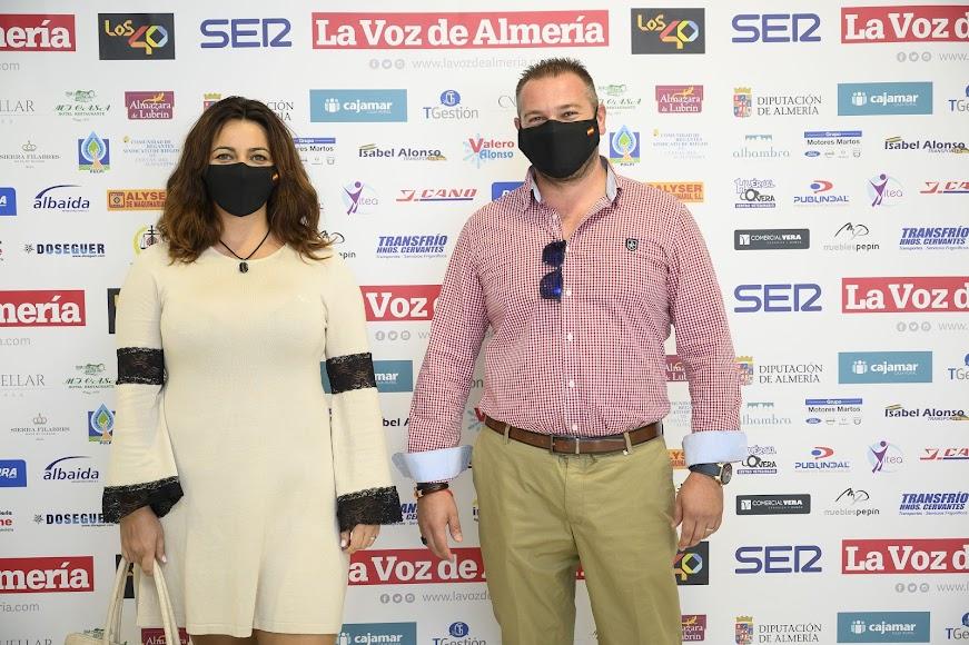La gala de LA VOZ reunió en Vera a protagonistas de la vida política, empresarial, cultural, social y deportiva de la comarca.