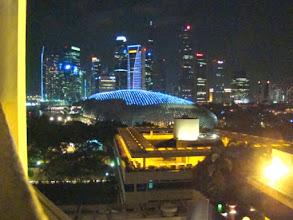 Photo: 006-Le Marina Mandarin à Singapour La vue de la chambre sur la Marina