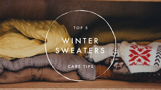 Top 5 Winter Sweaters - YouTube Thumbnail Template