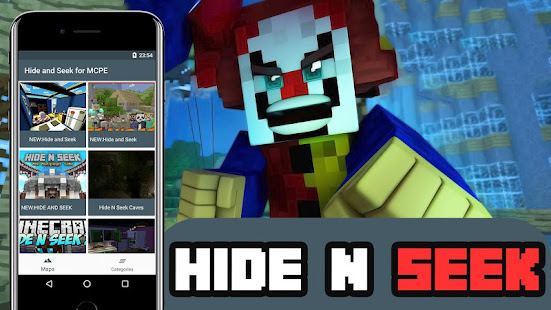 Hide And Seek For Minecraft PE Apps Bei Google Play - Minecraft verstecken spielen deutsch