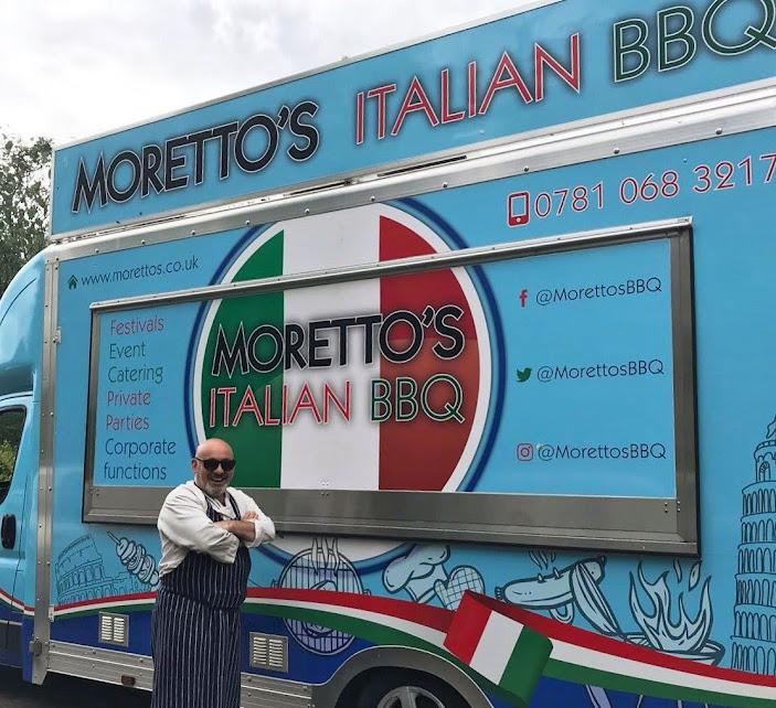 Morettos Italian BBQ Tenterden Catering Truck