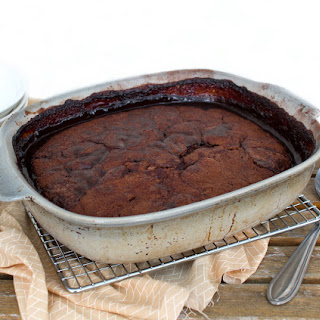 CHOCOLATE SELF-SAUCING PUDDING.