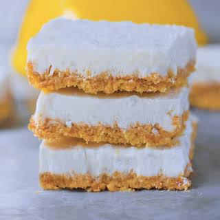 Creamy Vegan Lemon Bars!.