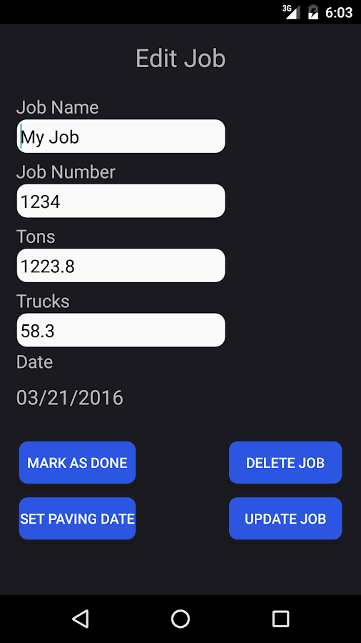 Asphalt Calculator Advanced- screenshot