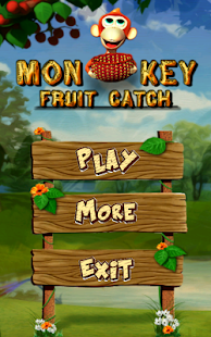Monkey Fruit Catch- screenshot thumbnail