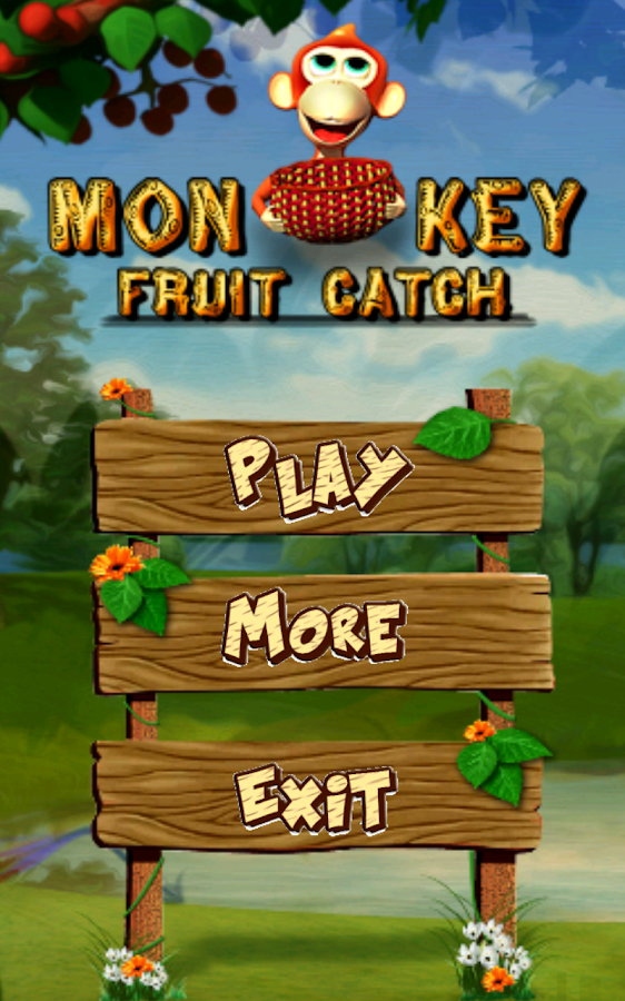 Monkey Fruit Catch- screenshot
