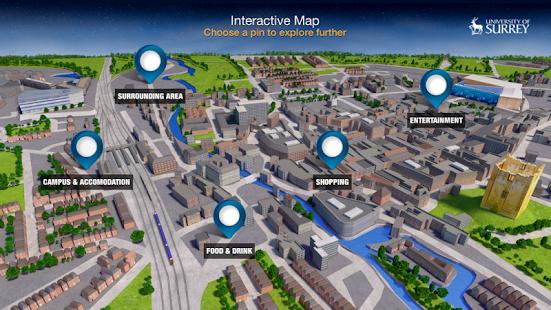 University of Surrey App screenshot