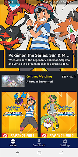 Pokémon TV 3.0.1 screenshots 1