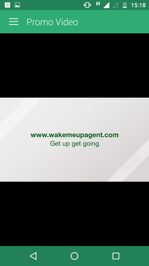 Wake Me Up Agent- screenshot