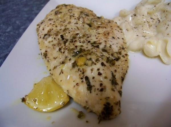 Baked Lemon Chicken Breast Recipe