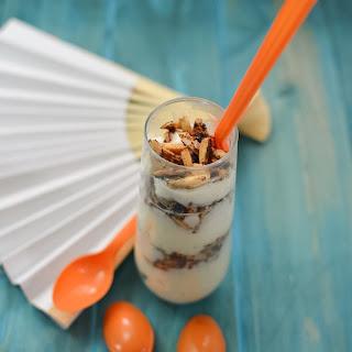 Rice Pudding with Cinnamon Sugared Almonds