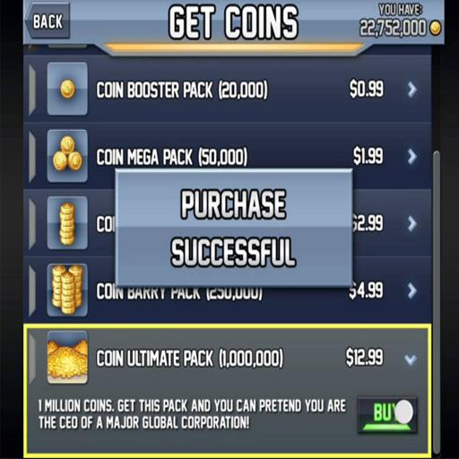 Coins For Jetpack Joyride