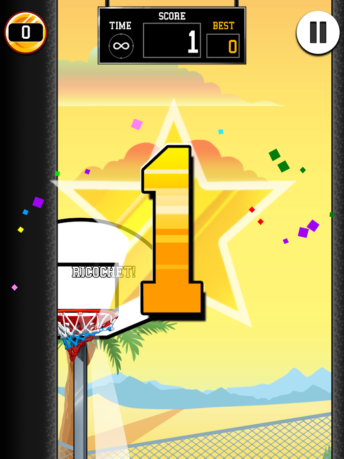 Basket Fall- screenshot
