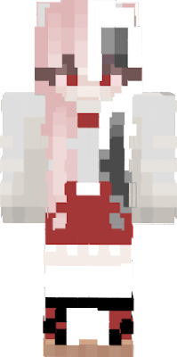 Hello my name is Primrose Bunny and I am a gachatuber,minecraft player, and a tiktoker now so enjoy my skin I made