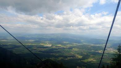 Photo: tja, oben am berg angekommen ziehen viele wolken