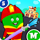 My Monster Town - Fire Station Games for Kids APK