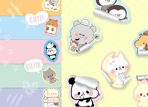 Sticky Notes Cute Characters for PC