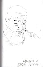 Photo: 思2012.02.23鋼筆 不知他是否正在思念家人....