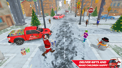 Foto do Santa Christmas Gift Delivery: Gift Game