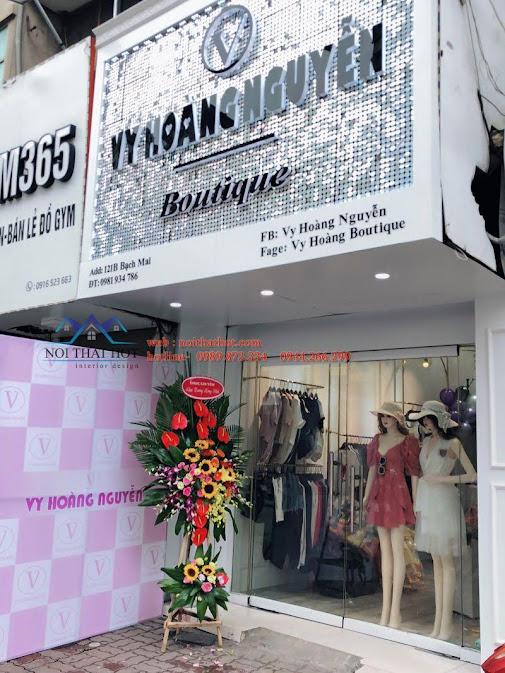 thiết kế shop thời trang nữ bạch mai 6