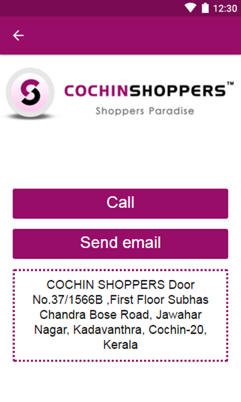 COCHIN SHOPPERS- screenshot