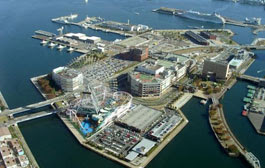 Морской порт Йокогама
