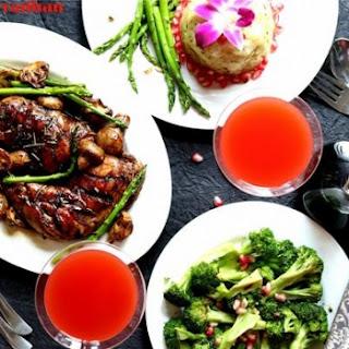 Chicken Legs & Mushroom Cooked in Balsamic Vinegar Recipe