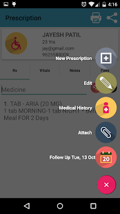 RxTAB Prescription App- screenshot thumbnail