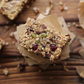 Hazelnut Buckwheat Granola Bars