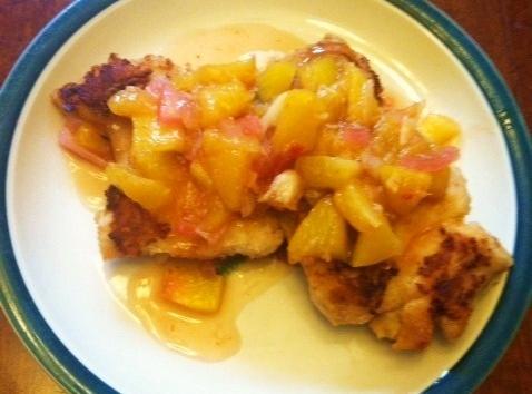 Chunky Peach Relish Recipe