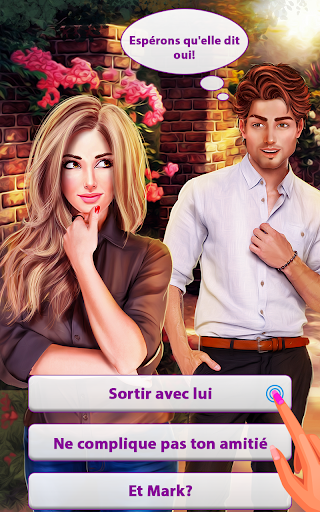 Histoire d'amour  Jeux - Ville natale Romance  captures d'écran 3