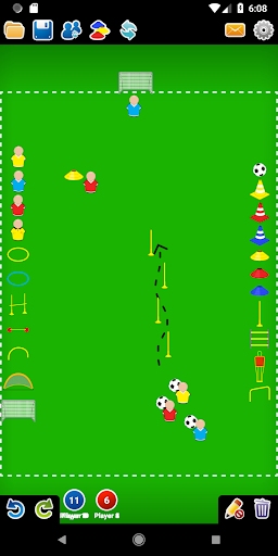 Coach Tactic Board: Soccer 1.2.2 screenshots 2