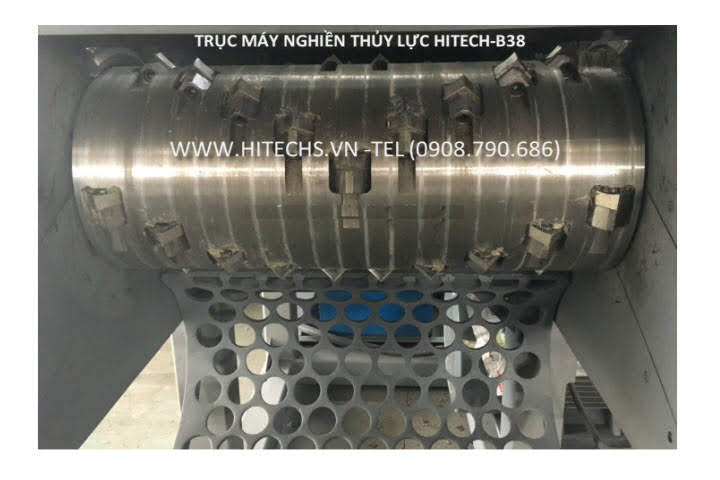 buồng máy nghiền nhôm thủy lực HitechB38