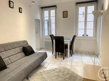 Appartement meublé 2 pièces 31,39 m2