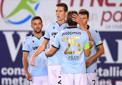 Bruges assure avant le PSG, première défaite au Canonnier pour les Hurlus